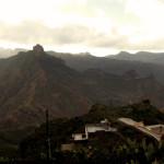 Vista di Artenara dalla Cueva